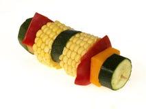 Kebab vegetariano Imagen de archivo libre de regalías