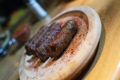 Kebabs - зажаренное мясо Стоковая Фотография RF