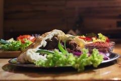 Kebabs - зажаренное мясо Стоковые Изображения RF