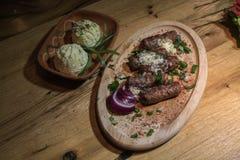 Kebabs - зажаренное мясо Стоковые Изображения
