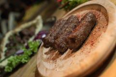 Kebabs - зажаренное мясо Стоковое фото RF
