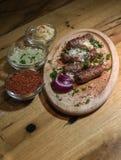 Kebabs - зажаренное мясо Стоковые Фото