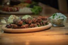Kebabs - зажаренное мясо Стоковое Изображение