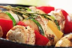 kebabs цыпленка Стоковое Изображение RF