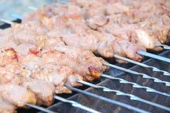 Kebabs Stock Foto's