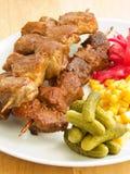Kebabs 库存照片