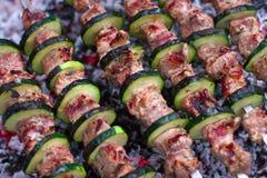 Kebabs Photos libres de droits
