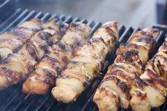 Kebabs royalty-vrije stock foto