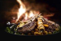 kebabs 免版税图库摄影