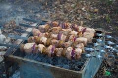kebabs Fotografía de archivo