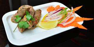 Kebabs de Seekh foto de archivo libre de regalías