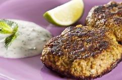 Kebabs de Shami Fotos de Stock Royalty Free