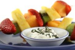 kebabs för 1 frukt Royaltyfria Bilder