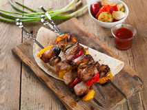 Kebabs Royalty Free Stock Photo