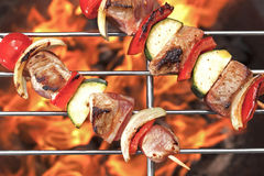 Kebabs Shish на гриле Стоковая Фотография RF
