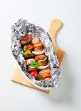 Kebabs Shish свинины Стоковая Фотография RF