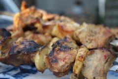 kebabs shish 库存照片