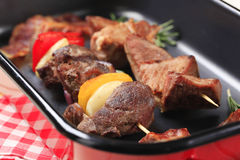 Kebabs Shish Стоковые Изображения