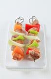 Kebabs Shish Стоковое Изображение