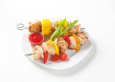 Kebabs Shish Стоковые Фото