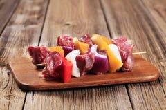 Kebabs Shish Стоковое Фото