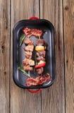 Kebabs Shish Стоковое Изображение RF