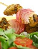 鸡kebabs tandoori 库存图片
