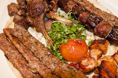 Kebabs Royalty Free Stock Photography