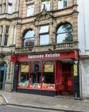 Kebabs van Swansea - de Meeneem royalty-vrije stock afbeeldingen
