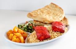 Kebabu gość restauracji Zdjęcie Stock