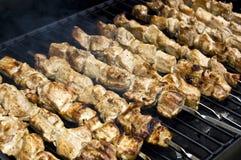 kebabu shish Obrazy Royalty Free