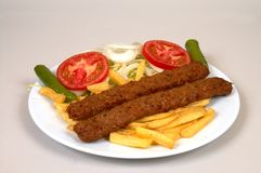 Kebap d'Adana Photo stock