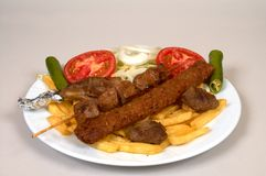 Kebap special Royalty Free Stock Images