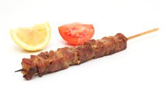 Kebap on stick Royalty Free Stock Photos