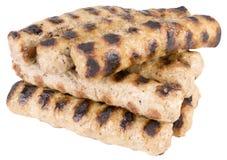 Kebapche tradicional búlgaro preparado da carne triturada Imagens de Stock