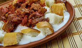 Turkish kebab Royalty Free Stock Photos