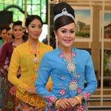 Kebaya Dress Stock Image
