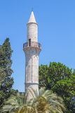 Kebirmoskee, Larnaca, Cyprus Royalty-vrije Stock Afbeelding