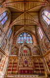Keble College chapel - Oxford University, Oxford, United Kingdom Royalty Free Stock Images