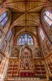 Keble szkoły wyższa kaplica - uniwersytet oksford, Oxford, Zjednoczone Królestwo Obrazy Royalty Free