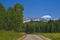 Kebler Pass Royalty Free Stock Images