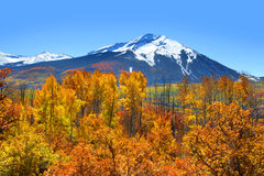 Kebler pass in autumn Stock Image