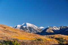 Kebler przepustka w Kolorado Skalistych górach Zdjęcie Stock
