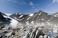 национальный парк kebnekaise Стоковое Изображение RF