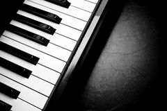 Keboard do piano Fotografia de Stock