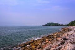 Kebtawan strand Royaltyfria Bilder