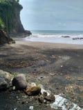 Kebumen de la playa Fotografía de archivo libre de regalías