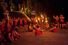 Kecak Dance Stock Photos