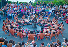 Kecak dance Royalty Free Stock Photography