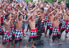 Kecak dance Royalty Free Stock Images